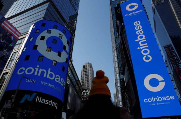 Фонды перевели средства из акций Tesla inc в криптовалютную биржу Coinbase