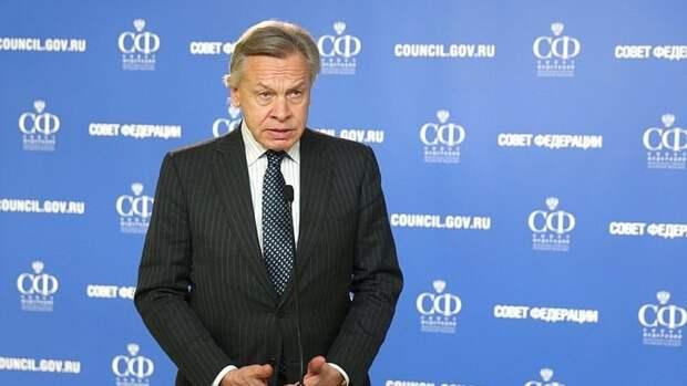 Сенатор Пушков рассказал про фейки о российских солдатах в Афганистане