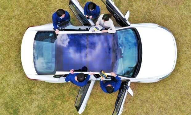 Да будет свет! Автомобили Hyundai и Kia оснастят солнечными батареями