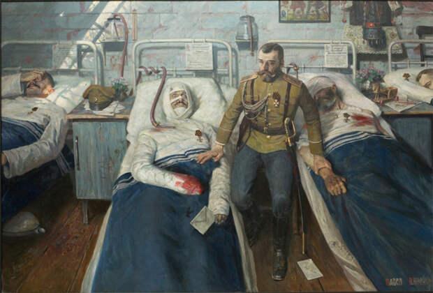Госпиталь. Автор: Павел Рыженко.