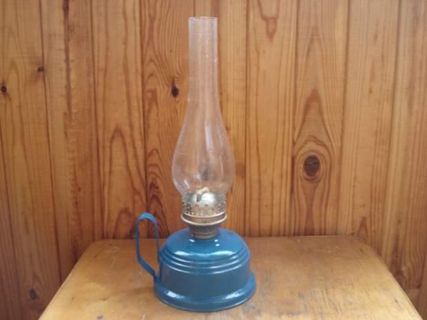 Самодельный светильник в стиле ретро