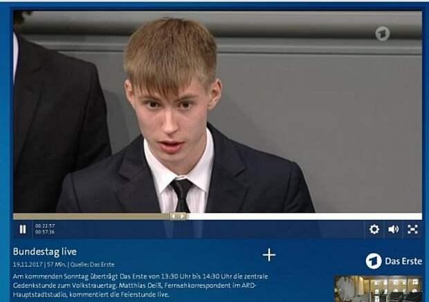 Кающемуся мальчику в Бундестаге дал слово Газпром.