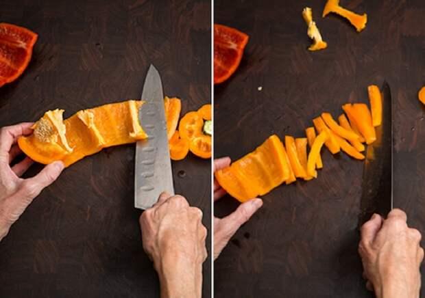 Как классно нарезать продукты