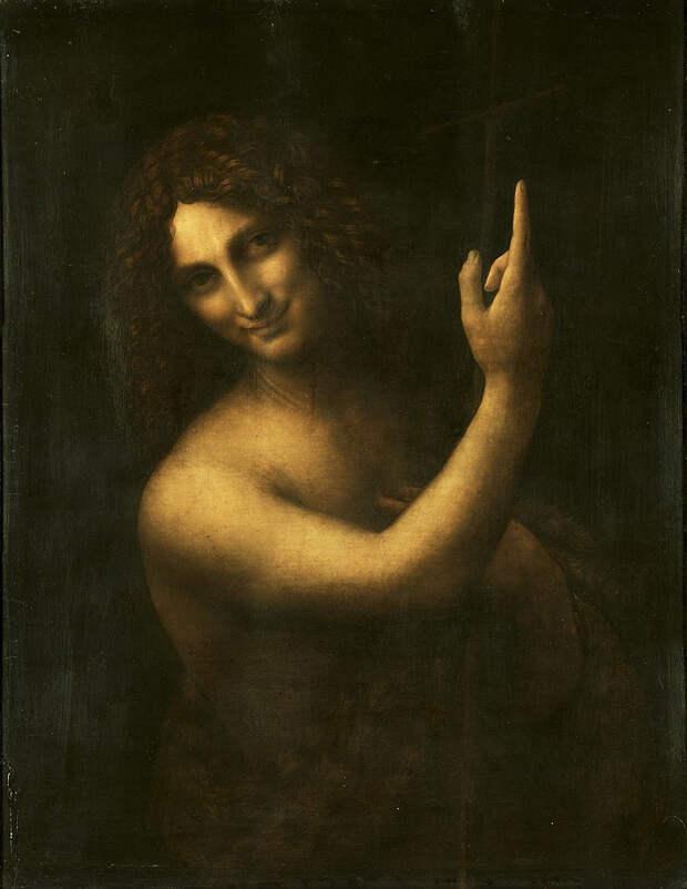 Портрет пришельца на картине да Винчи