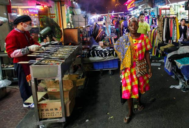 Африканский квартал в Гуанчжоу