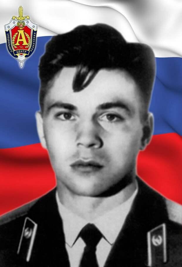 Лейтенант РЯБИНКИН Дмитрий Валерьевич
