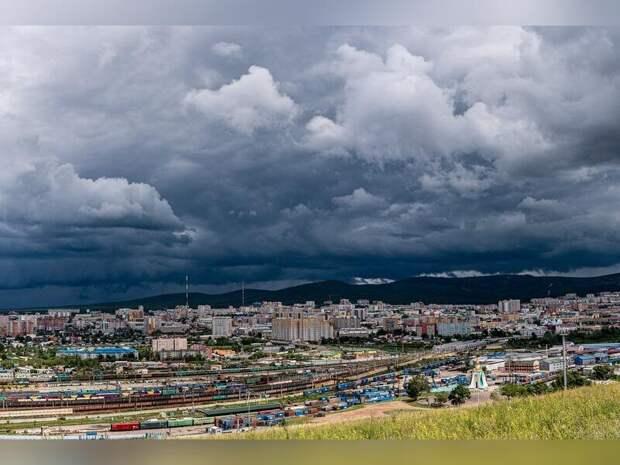 1 августа в Забайкалье ожидаются кратковременные дожди