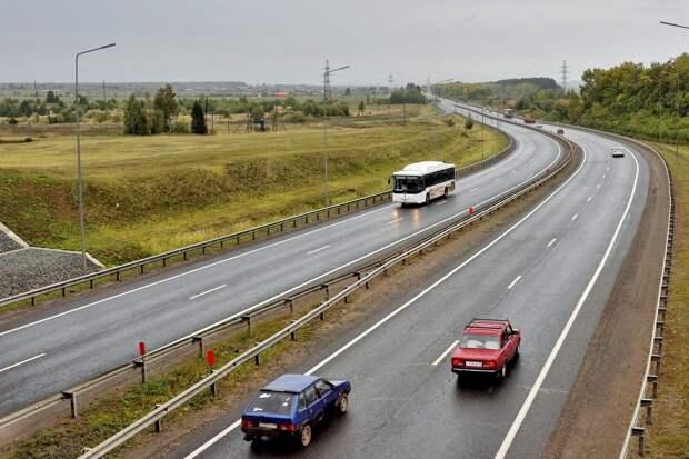 В Удмуртии в 2021 году начнут расширять трассу М7