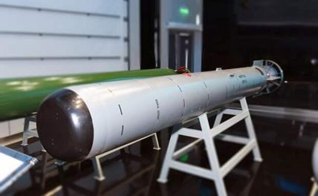На фото: авиационная противолодочная ракета АПР-3МЭ