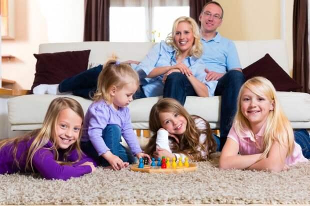 Многодетные семьи получат компенсацию от государства за ипотеку