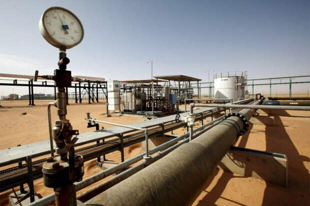 Ливия добыча нефти NOC