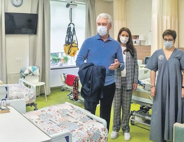 По словам мэра, после обустройства центра пациенты будут чувствовать себя более самостоятельными/ Д.Гришкин (пресс-служба мэра и Правительства Москвы)
