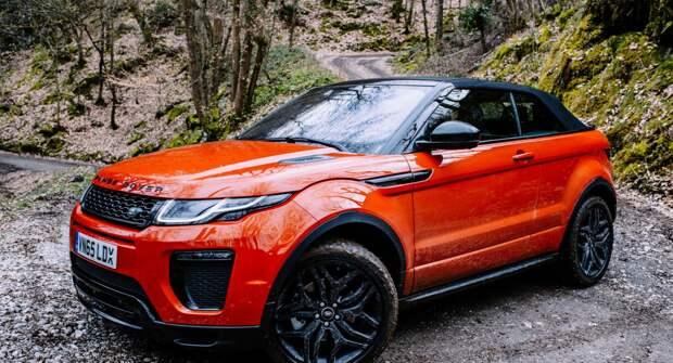 Range Rover Evoque: Современный и компактный внедорожник