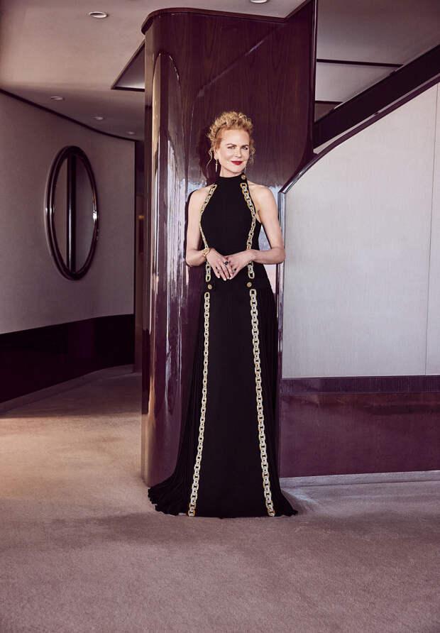 Николь Кидман вLouis Vuitton Золотой глобус 2021