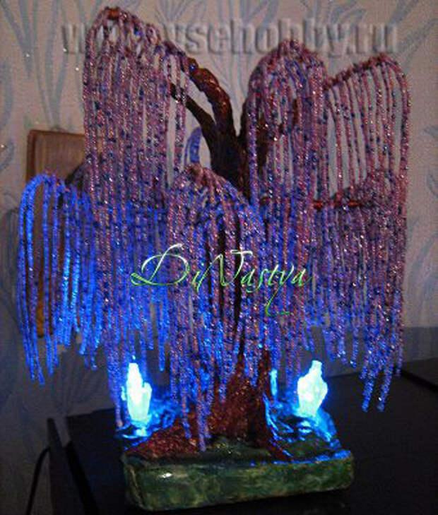 дерево ручной работы эйва из бисера и проволоки мастер-класс