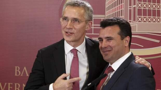 Столтенберг: Македонию пригласят вНАТО после соглашения Скопье иАфин