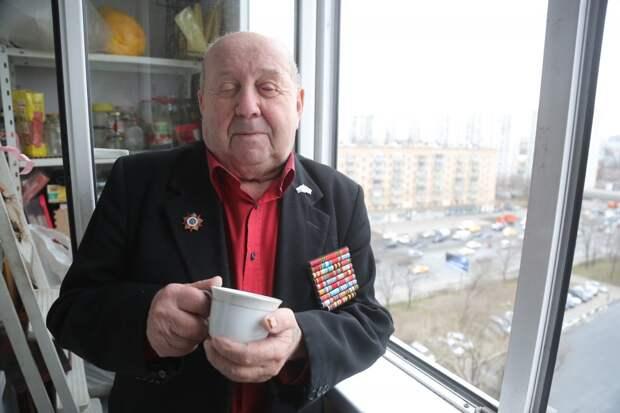 Ветеран из Марьиной рощи привился от ковида