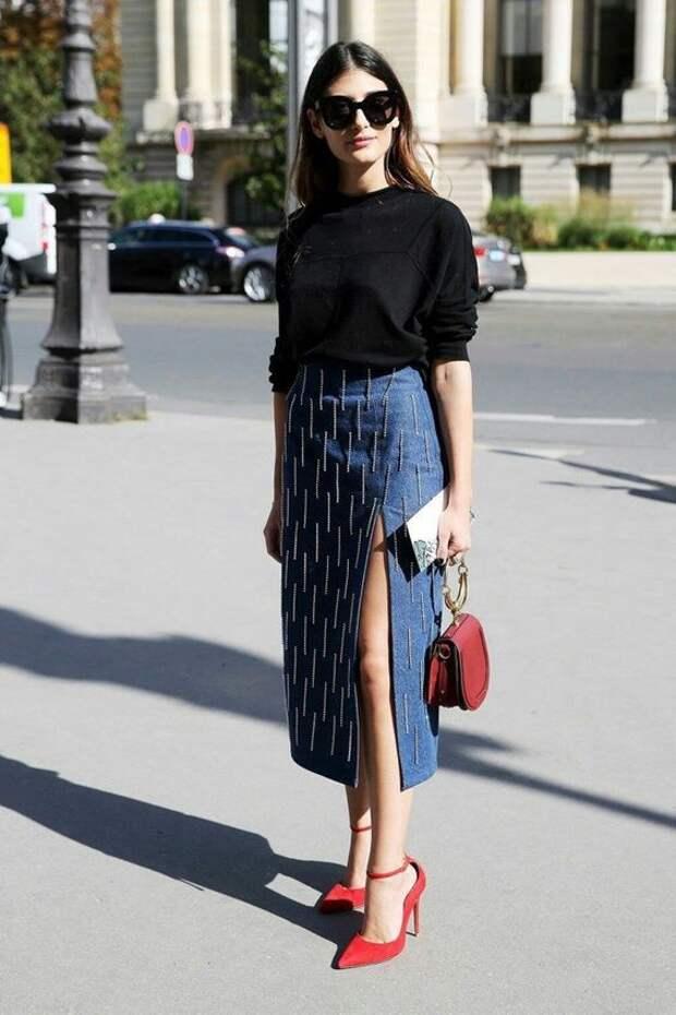 Твидовые, кожаные и джинсовые: юбки, которые нужны в осенне-зимнем гардеробе 2020/21