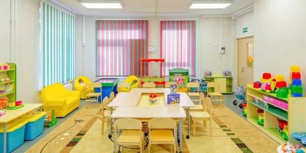 Собянин открыл новый детский сад на севере Москвы. Фото: mos/ru