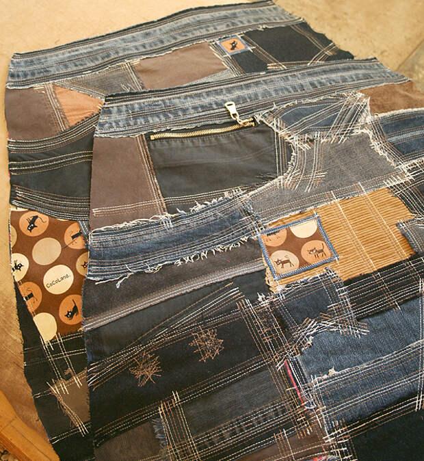 Как сшить юбку в стиле «боро»