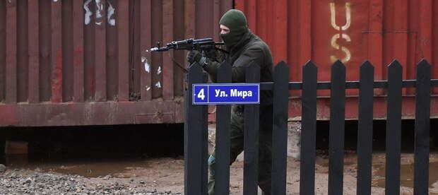 В Белоруссии войска ОДКБ отработали освобождение захваченного сепаратистами города