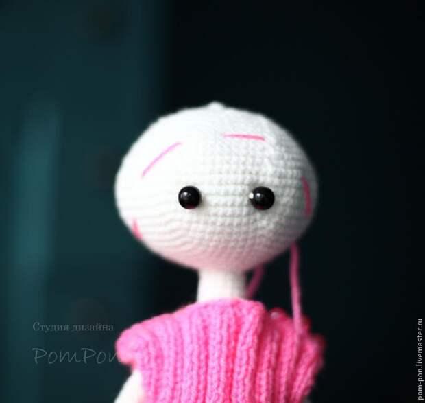 Вяжем куколку. Мастер-класс