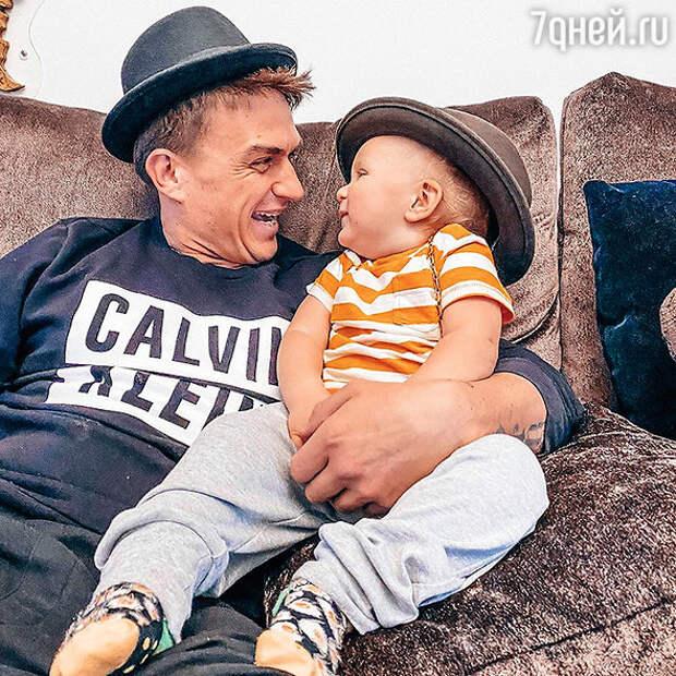 «Сломал лапу»: сын Регины Тодоренко получил серьезную травму