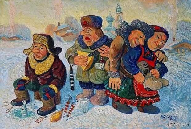 художник Валерий Сыров картины – 20