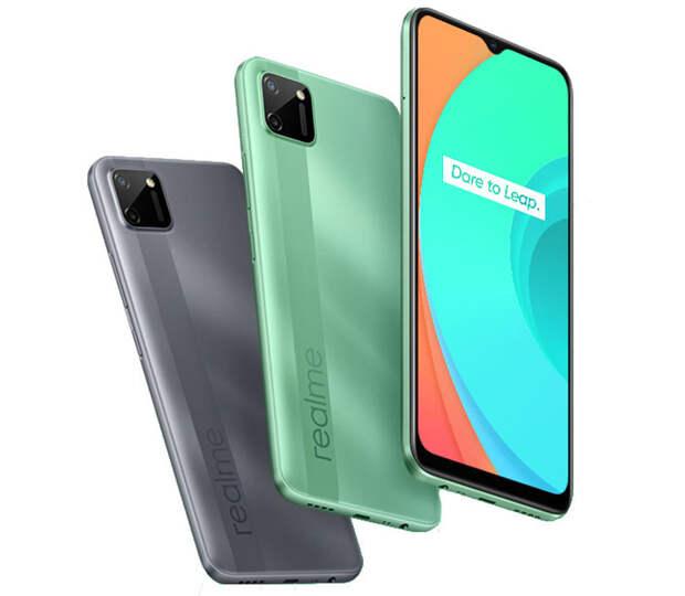 Представлен смартфон Realme C11 на новейшем чипсете MediaTek Helio G35