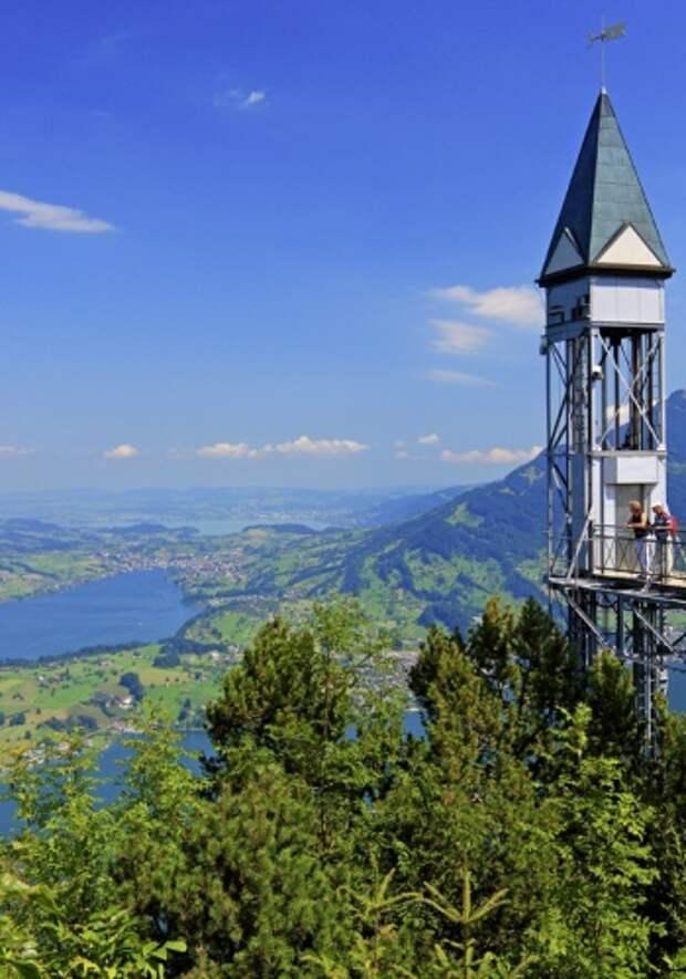 Hammetschwand Lift, Швейцария, Люцерн — Нидвальден