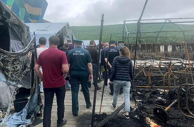 В сгоревшем лагере заявили о невозможности выплат компенсаций семьям погибших детей