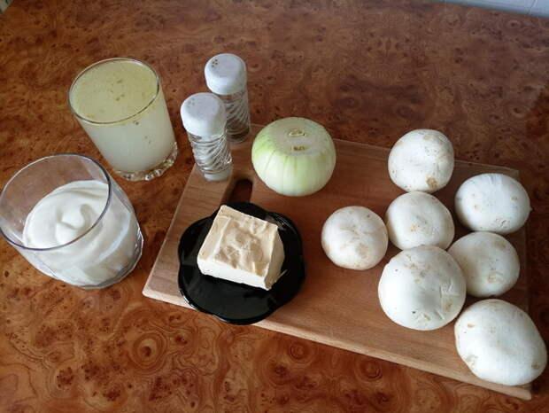 Рецепт простого, божественного грибного соуса! Проще некуда. горячее, кулинарный канал, рецепт, фоторецепт, еда, Лига Кулинаров, гифка, длиннопост