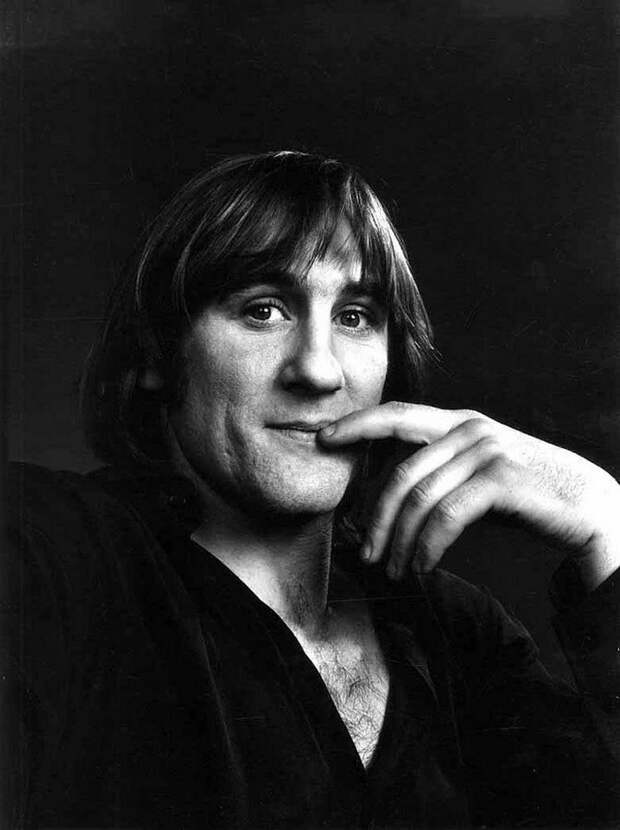 Gerard Depardieu by Yousuf Karsh