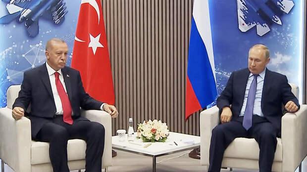 Путин и Эрдоган встретились на полях МАКС-2019