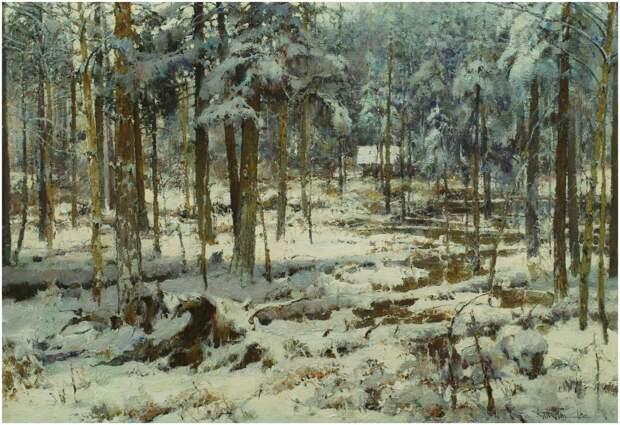 Ю.Васендин. Зимний лес