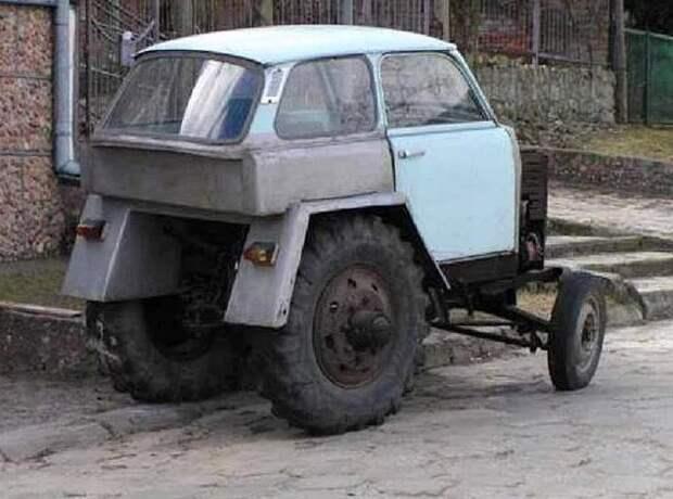 21 транспортное средство, сделанное при отсутствии денежных средств: со смеху умереть, не встать