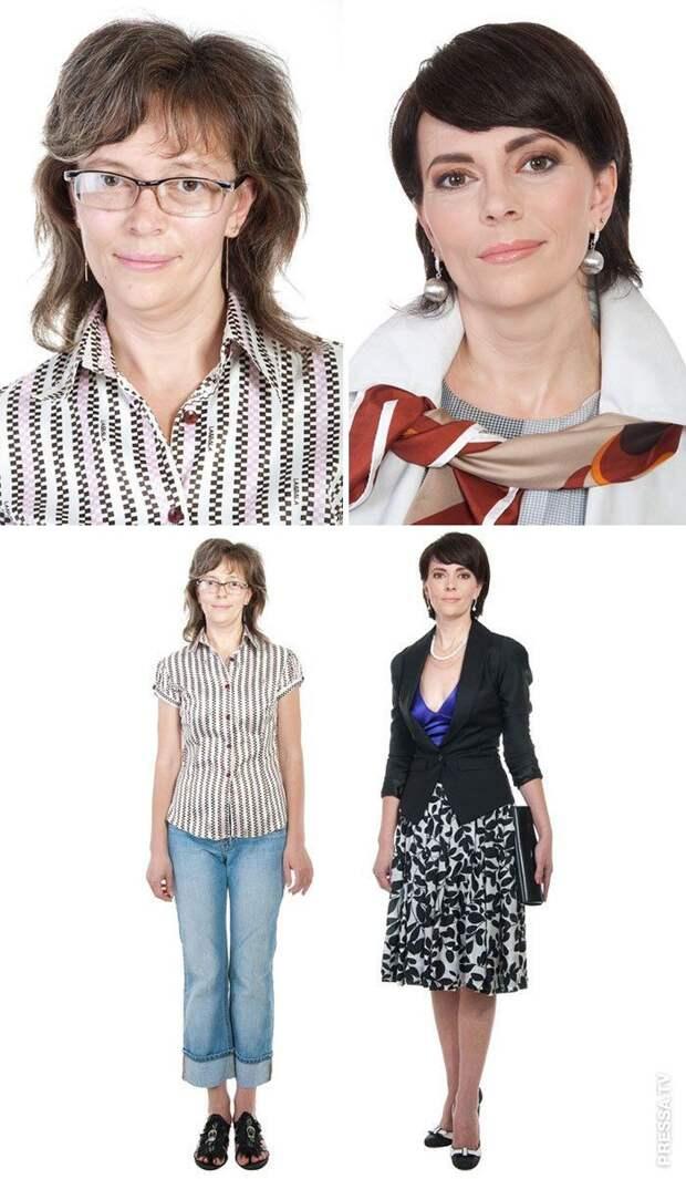 Невероятные трансформации внешности