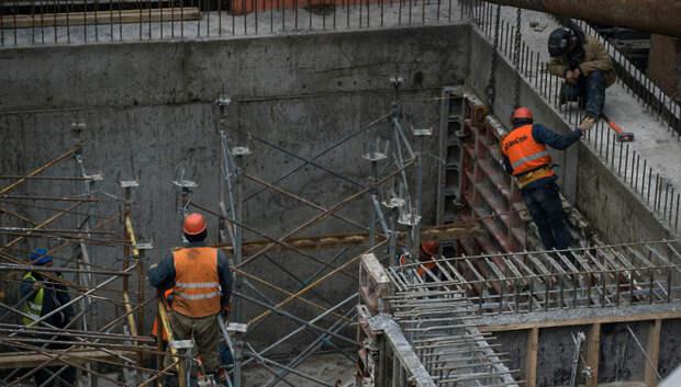 Около 30 тысяч человек возобновили работу на стройках в Подмосковье