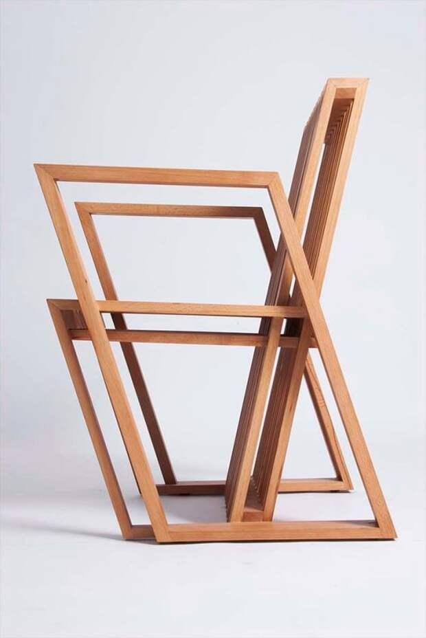 20 идей красивой и необычной мебели из дерева