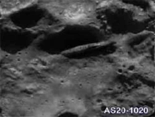 «НЛО на Луне» – материалы из интервью с Вильямом Рутледжем, членом экипажа «Аполлон-20»
