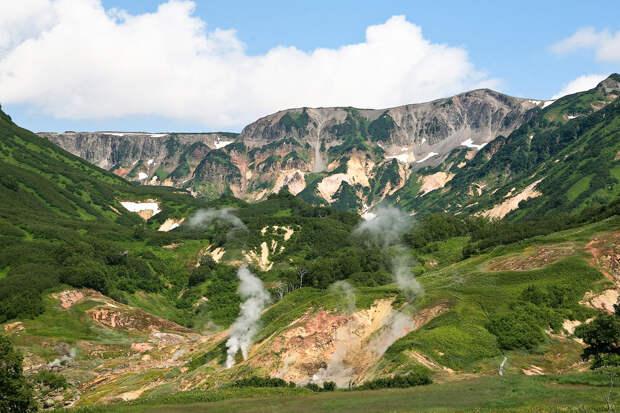 Долина гейзеров, Россия