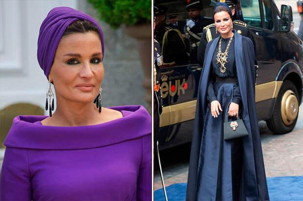 Шейха Моза – самая влиятельная и стильная восточная женщина