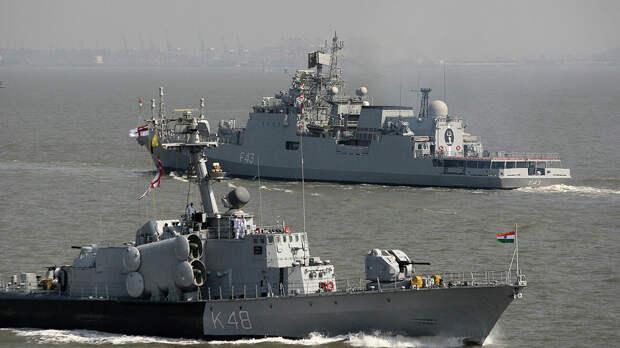 Корабли ВМС Индии - РИА Новости, 1920, 05.09.2020