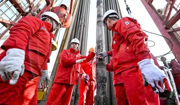 Sinopec поставила азиатский рекорд поглубине бурения направленной скважины