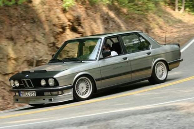 «Биммер» мечты: уникальная Alpina B7 Turbo по цене нового BMW