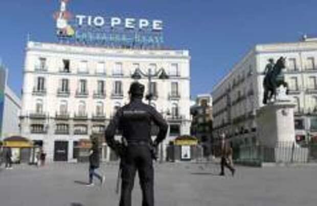 Ледовый дворец в Мадриде превратят в морг