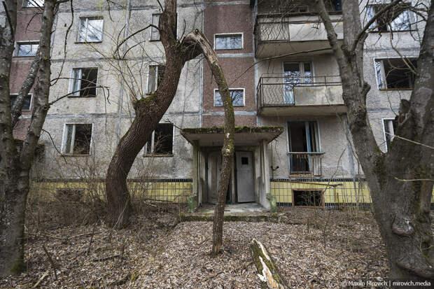 Квартиры брошенной Припяти.