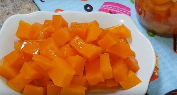 Сочное манго из тыквы: и 20 банок на зиму будет мало