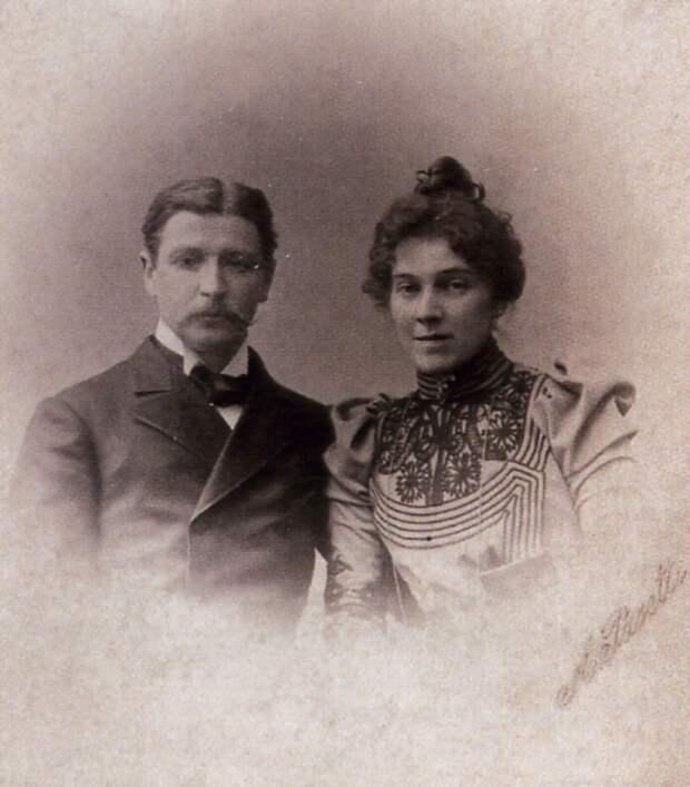 Михаил Врубель и Надежда Забела, 1890- е гг. | Фото: wroubel.ru