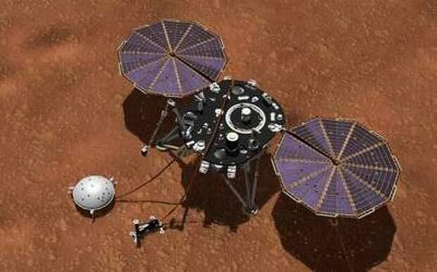 Марс оказался не совсем мертвым с геологической точки зрения